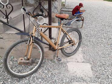 Спорт и хобби - Селекционное: Велосипед ништяк рама алюминиевый Диска 26 размер  6000 Кеми бар ала Т