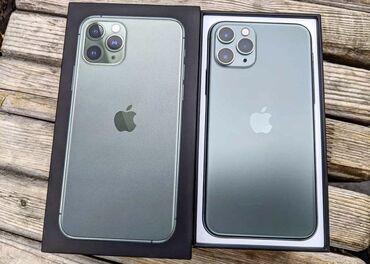 Apple Iphone - Состояние: Б/У - Бишкек: Б/У IPhone 11 Pro 64 ГБ Зеленый