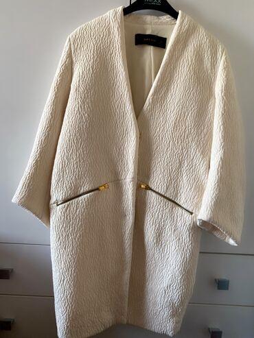 uslugi mashiny s kranom в Кыргызстан: Пальто Zara размер s-m, на клепках покупалось в Москве