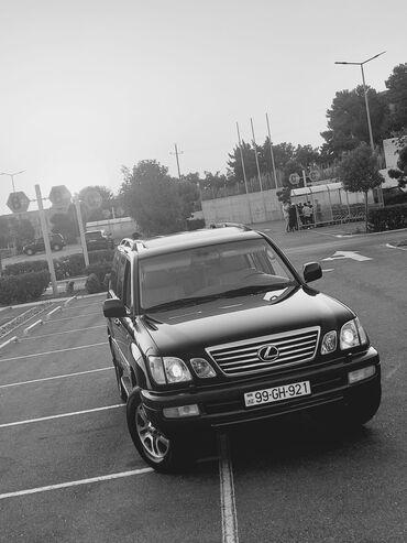 10562 elan   NƏQLIYYAT: Lexus LX 4.7 l. 2006   315000 km