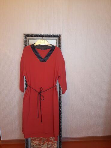 купить реборна недорого от 1000 до 3000 в бишкеке в Кыргызстан: Продаю платье б/у с кожаными вставками.  Размер 44. Шикарное качество
