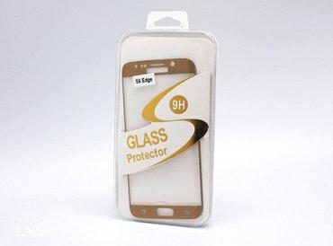 Tempered glass (kaljeno-zastitno staklo) zakrivljeno za samsung s6