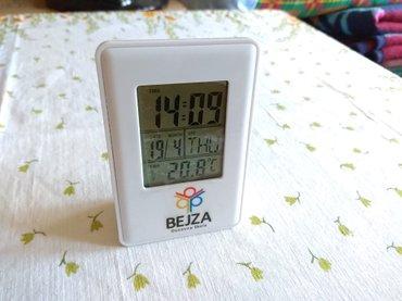 Stoni sat, termometar, datum - Belgrade