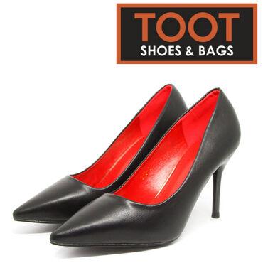 черные женские туфли в Кыргызстан: ТУФЛИ ЖЕНСКИЕ  TOOT SHOES&BAGS  Артикул: 318-1-1. (3)  Цвет: Черны