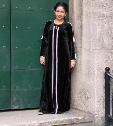 """платье из королевского бархата в Кыргызстан: Платья от турецкого производителя """"Дафик""""Ткань: королевский бархат! Не"""