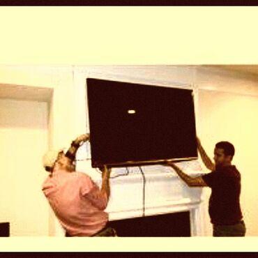 lg d724 g3s в Азербайджан: Televizorlarin evlərə divara qurrasdirilmasi
