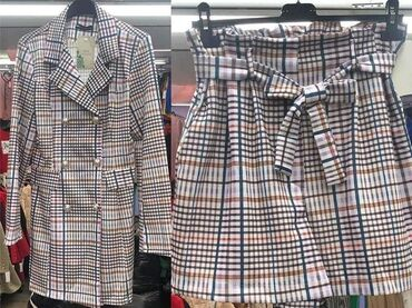 Suknje - Srbija: Komplet suknja/sorc i kaputic Velicina uni (s, m, l) Cena: 3600 dinara