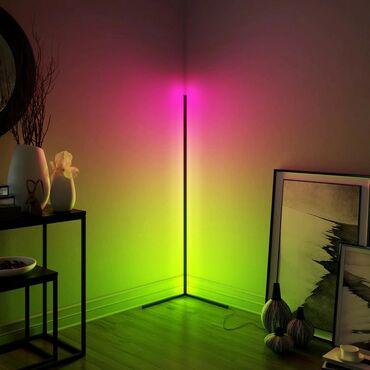 Угловая лампа Corner RGBa отоично дополняет большинство интерьеров!