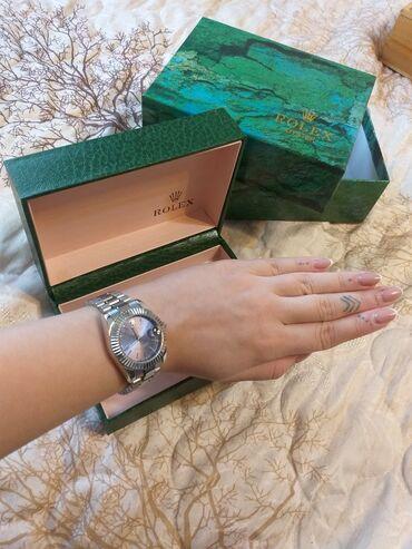 Серебристые Женские Наручные часы Rolex