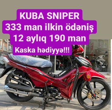 Honda - Azərbaycan: KUBA SNIPER 2020 modelSürət: 160 kmMotorun həcmi: 50 kubIstehsalçı