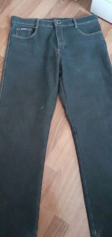 Продам б/у мужские джинсы размер 38 (50-52) внутри немного утеплённые