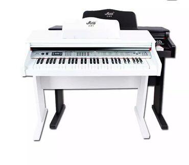 Piano 61 klaviş flaskartli coxfunksiyali  rast musiq alətləri mağaza ü