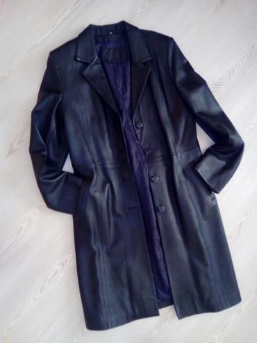 Merona mantil xl - Srbija: Kožni mantil XL odgovara L, XL *NOVO*