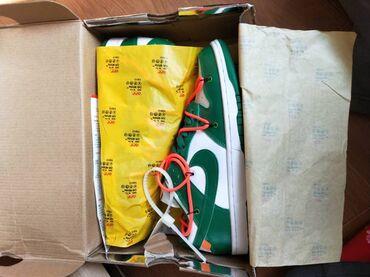 спортивные кроссовки мужские в Кыргызстан: СРОЧНО!!!Nike Off-white Dunk мужские кроссовки Размер 42,5 маломерят