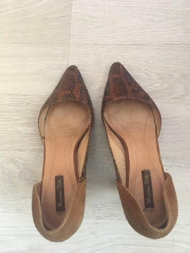 Mussimo dutti итальянские кожаные туфли, каблук 4-5 см кожаные и замше