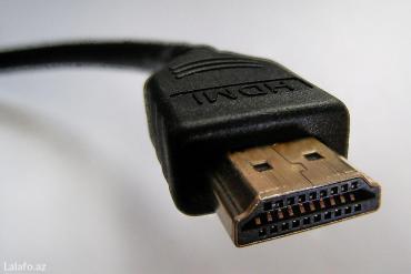 lalafo az - Azərbaycan: Hdmi kabel. 1. 5 metr. Keyfiyyətli məhsuldur. Kabeli üstü toxumadır
