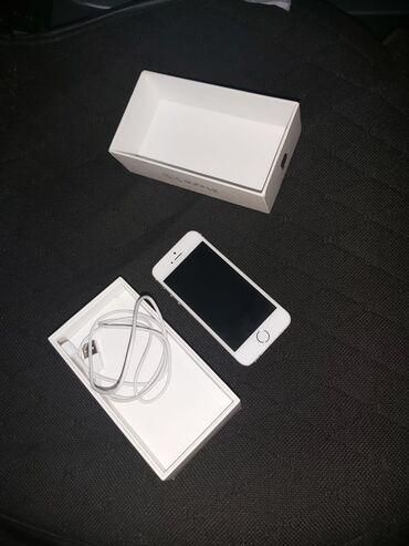 apple-iphone-5s-16gb - Azərbaycan: Iphone 5S 16gb, az islenib, batareya deyisilib orjinal qoyulub