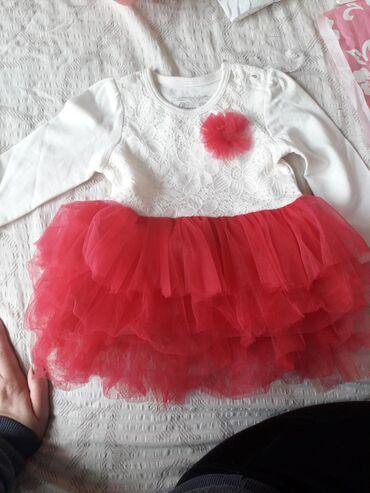 | Ub: Haljinice za decu do 9 meseci. Nove nenosene. Uz belu haljinu ide