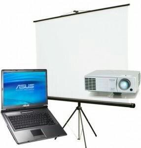 проектор-на в Кыргызстан: Сдаю в аренду проектор (acer, beng). экран на триножке и настенные 2м-