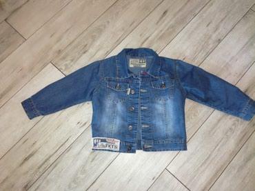 Dečije jakne i kaputi | Kostolac: Teksas jakna za decake vel. 4. Nosena samo par puta, siri je model za