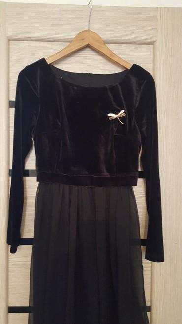 черное платье турция в Кыргызстан: Продаю платье черное,вечернее. производство Турция. размер 44состоян