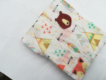 pododejalnik 100 120 в Кыргызстан: Муслиновые пеленки 70% бамбук, 30% хлопок размер:120*120 цена:450