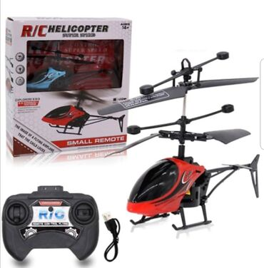 Infrared helihopter na daljinsko upravljanje CrveniHelikopter za decu