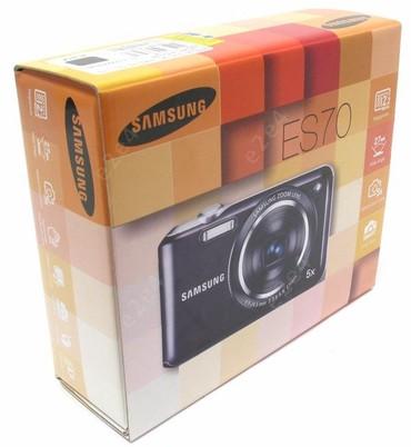 Фотоаппарат Samsung ES70-в упаковке в Бишкек