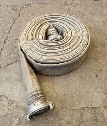 Пожарный рукав диаметр 65мм длина 20м усиленный, советский СССР