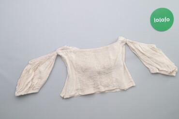 Жіноча блуза з відкритими плечима    Довжина: 22 см Рукав: 15 см Напів