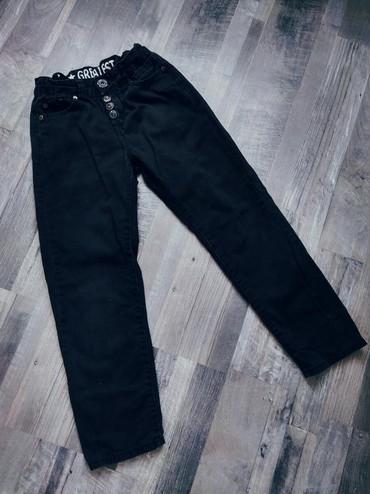 Черные брюки полуспортивного покроя на мальчика 8 лет ! Качество
