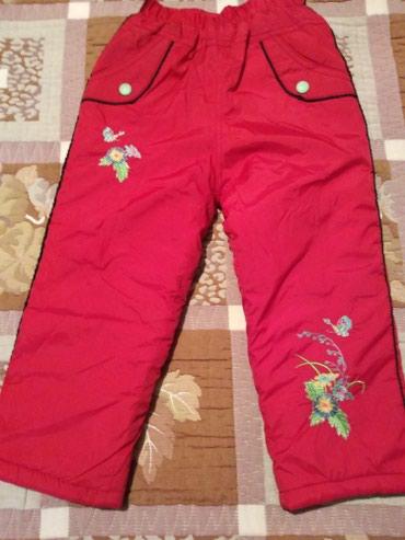 Теплые штаны на 3-5 лет, в зависимости в Бишкек