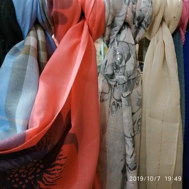 разные сумки в Кыргызстан: Шарфы в ассортименте разные