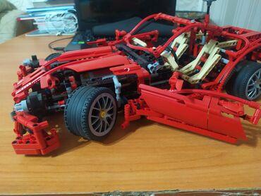 lego technic volvo l350f в Кыргызстан: Продаю lego technicFerrari в комплекте есть инструкция Можно разобрать