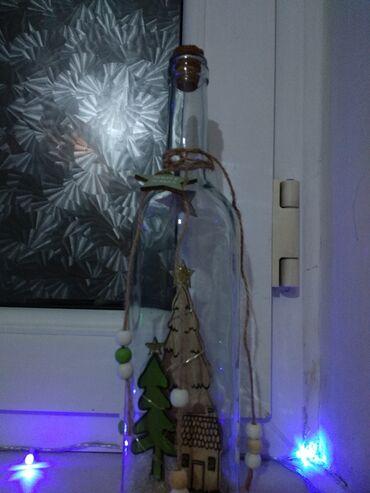 бутылочка в Кыргызстан: Мини светильник в виде красивой бутылочки, который украсит вашу