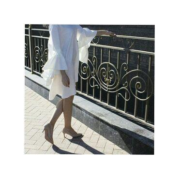 длинные вечерние платья с длинным рукавом в Кыргызстан: Платье на вечер. Роскошное платье A-силуэта, с рукавами-воланами