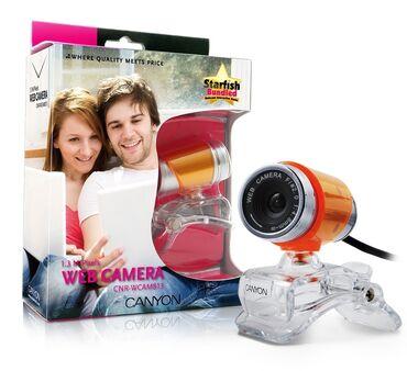 веб камера без микрофона в Кыргызстан: Веб-камера CANYON (Договорная)   CNR-WCAM813G  Идеальна для видео-пере