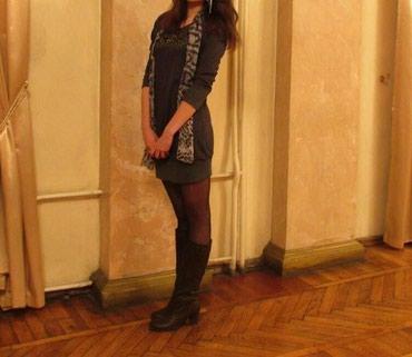 Продаётся зимнее платье 46 размера в Кок-Ой