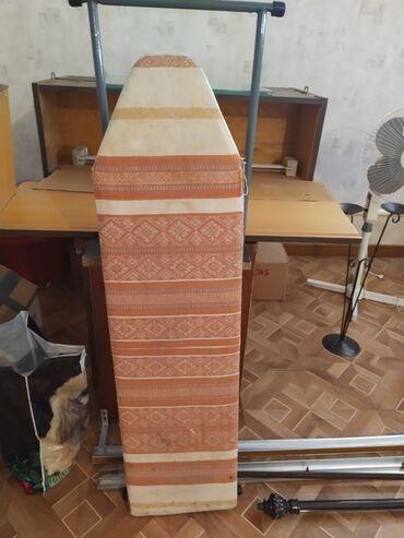 Гладильные доски - Кыргызстан: Продаю бу гладильную доску а отличном исправном состояние. По состояни