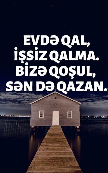 Kömür, odun - Azərbaycan: Evdən online işləmək istəyən xanımlar üçün iş təklif edirik. Komanda