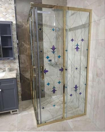 Duş kabinler hazirlanir