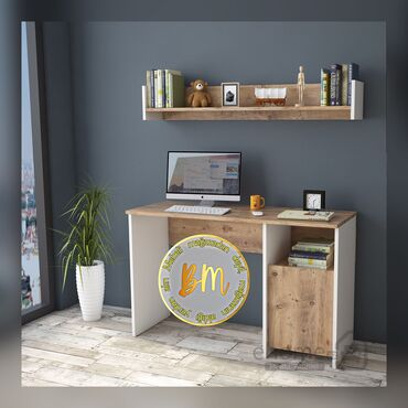 usaq yazi stolu - Azərbaycan: Usaq yazi masasi kompyuter masasi stolu sifarisle yigilir 18mm laminat