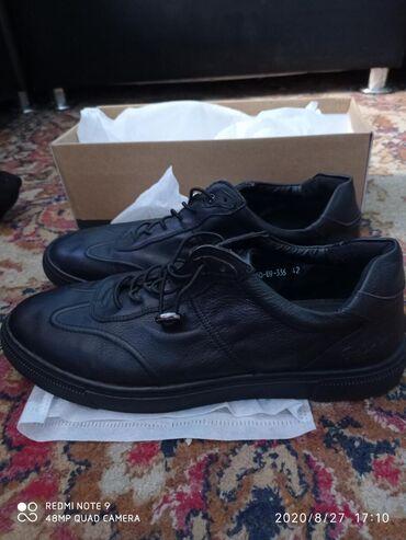 Туфли - Сокулук: Продаю мужской кожанные туфли. Новое.размер 42