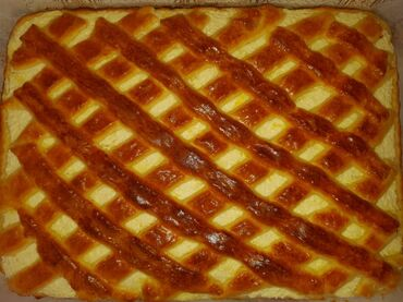 Творожный пирог 400сомов можно поделить на 12штук