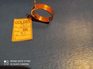 Cartier uzuk 585 eyyar 3 gramm razmer 21