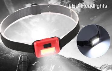 Šlemovi | Srbija: Mini Headlamp LED 3 Mode Headlamp AAA ABS Headlight 3 kom. 2700