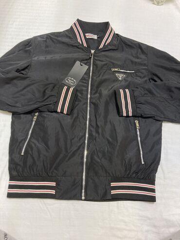 мужской плащ в Кыргызстан: Мужская Куртка осень весна ! Материал Плащевка размер 46.48