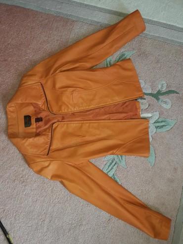 Ženska odeća | Novi Pazar: Kozna jakna, kvalitetna, nikad obucena. Dobijena na poklon, iz Kanade