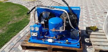 Оборудование для бизнеса - Кыргызстан: Продаётся холодильный агрегат комплект до   - 18 70м³. состояние ново