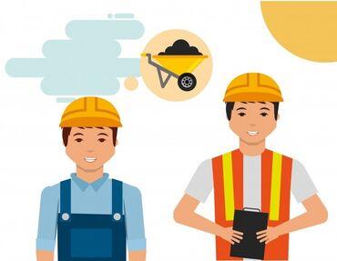 Поиск сотрудников (вакансии) - Кыргызстан: Срочно! Рабочие на стройку в Москве (пос. Ватутинки). Мужчины до 50 ле